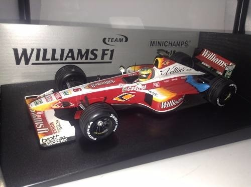 Imagem do Williams Fw21 Ralf Schumacher Minichamps 1/18