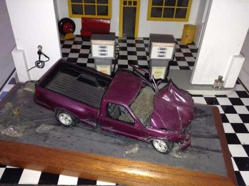 Diorama Chevrolet S10 1/24 - B Collection