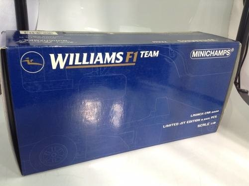 Imagem do Williams Launch Car 2000 Schumacher Minichamps 1/18