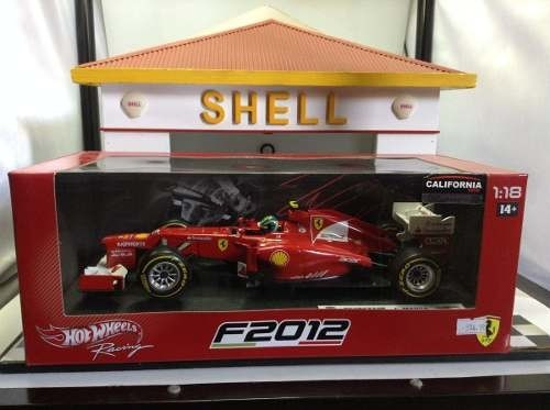 Imagem do Ferrari F2012 F.massa Hot Wheels 1/18