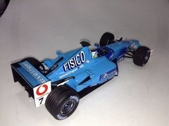 Benetton B201 G.fisichella Minichamps 1/18 - B Collection