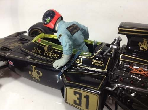 Imagem do Lotus Type 72d Emerson Fittipaldi Exoto 1/18