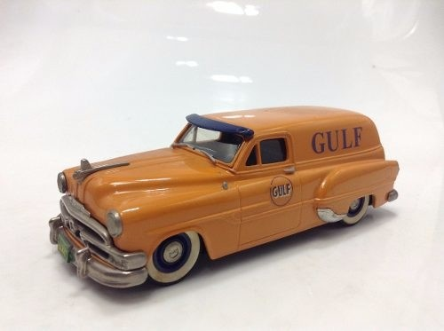 Pontiac Sedan Delivery 1953 Gulf Brooklin Models 1/43