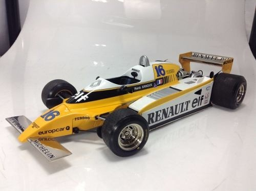 Renault Re-20 Turbo Rene Arnoux Exoto 1/18