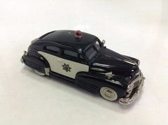 Chevrolet Aero Sedan (1948) Police - Brooklin Models 1/43 - loja online