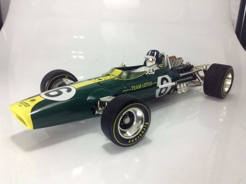 Lotus Type 49 Graham Hill Quartzo 1/18