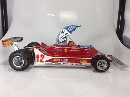 Ferrari 312 T4 Gilles Villeneuve Exoto 1/18 - B Collection