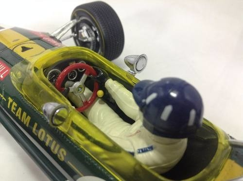 Imagem do Lotus Type 49b Graham Hill Exoto 1/18