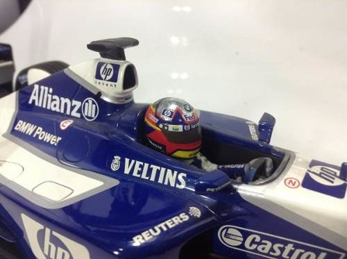 Williams Fw24 Juan Pablo Montoya Minichamps 1/18 - loja online