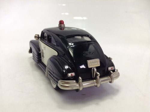 Chevrolet Aero Sedan 1948 Police Brooklin Models 1/43 na internet