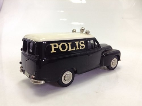 Volvo Pv455 1953 Police Brooklin Models 1/43 - B Collection
