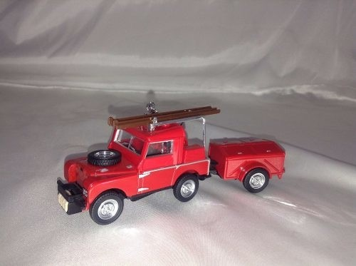 Land Rover Auxiliary Matchbox Collectibles 1/43