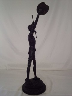 Don Quixote Em Petit Bronze - B Collection