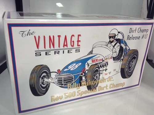 Imagem do Billy Vukovich Jr. Rev 500 Special Dirt Champ Gmp 1/18