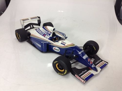 Williams Fw16 Nigel Mansell Minichamps 1/18 - loja online