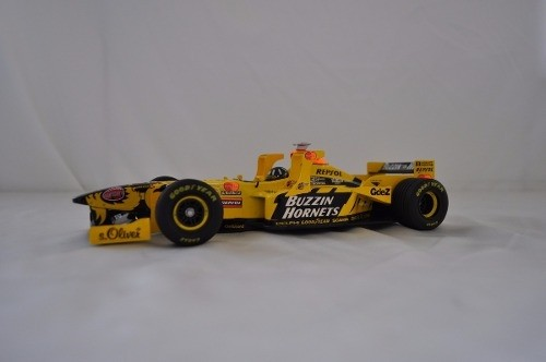 Jordan 198 W Tower Wing D.hill Minichamps 1/18 - B Collection