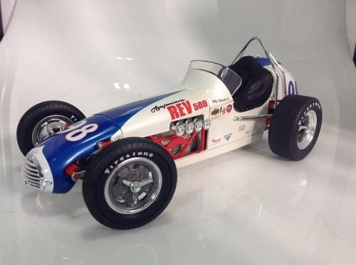Billy Vukovich Jr. Rev 500 Special Dirt Champ Gmp 1/18