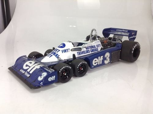 Tyrrell P34 Ronnie Peterson Exoto 1/18