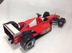 Ferrari F2001 Barrichello Hot Wheels 1/18 - B Collection