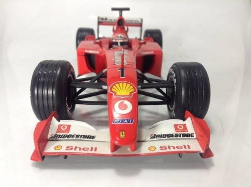 Ferrari F2001 Schumacher Hot Wheels 1/18 - comprar online