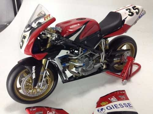 Ducati 998 Rs Superbike Nelo Russo Minichamps 1/12 - B Collection