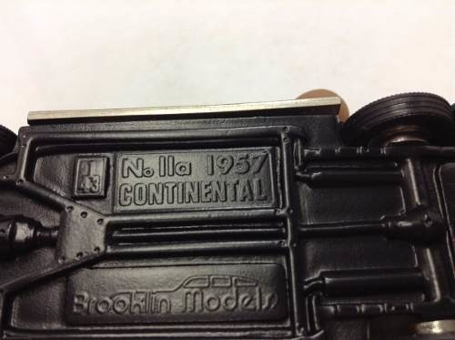 Imagem do Nolla Continental 1957 Brokklin Models 1/43