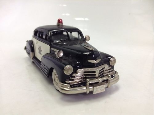 Chevrolet Aero Sedan 1948 Police Brooklin Models 1/43 - comprar online