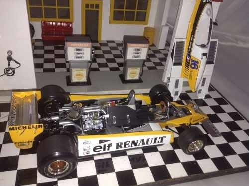 Imagem do Renault Re-20 Turbo Rene Arnoux Exoto 1/18