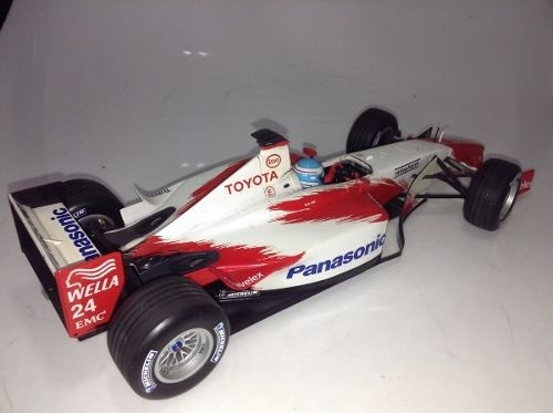 Toyota Showcar 2002 Mika Salo Minichamps 1/18 - B Collection