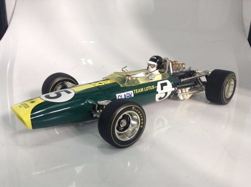 Lotus Type 49 Jim Clark Quartzo 1/18
