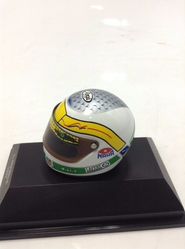 Capacete Arai G.fisichella 1997 Minichamps 1/8 - B Collection