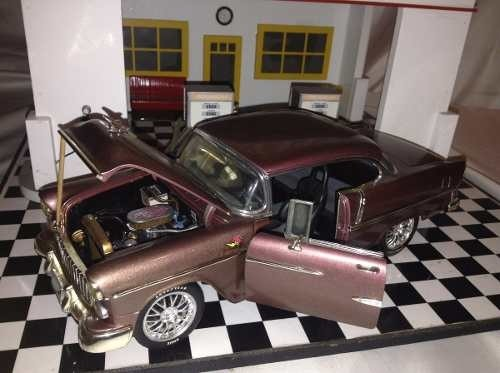 Chevy Bel Air 1955 Custom Ertl 1/18 na internet