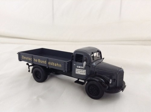 Mercedes Benz L3500 Canvas Truck Minichamps 1/43