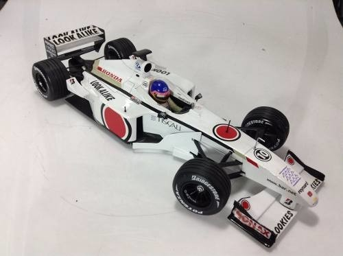 Bar 03 Jacques Villeneuve Minichamps 1/18 - B Collection