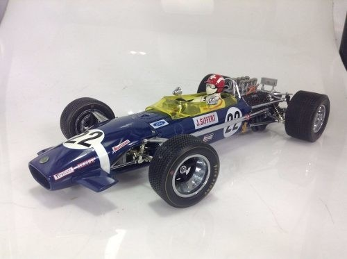Lotus Type 49b Jo Siffert Exoto 1/18