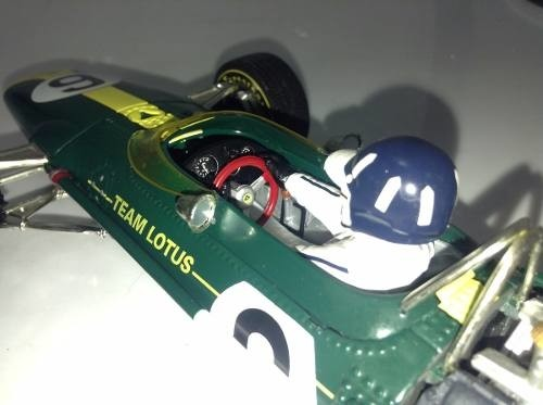 Imagem do Lotus Type 49 Graham Hill Quartzo 1/18