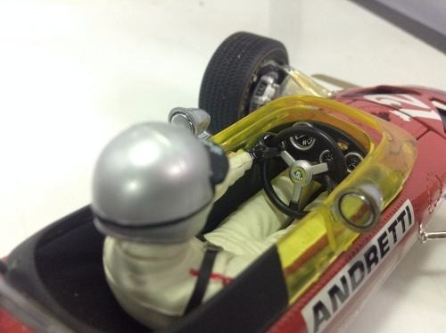 Imagem do Lotus Ford Type 49b Mario Andretti Exoto 1/18