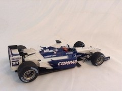 F1 Williams (BMW Launch Car 2002) J. P. Montoya - Minichamps 1/18 - B Collection