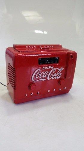 Radio Cooler Coca Cola