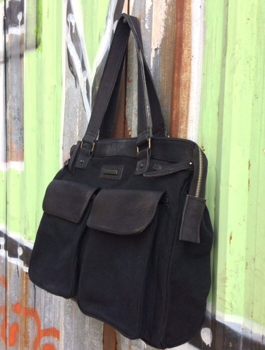 Imagen de Weekender Bag Canvas and Leather
