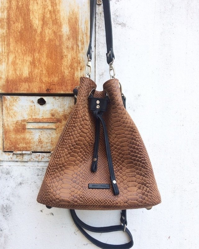Bucket Bag - Croco