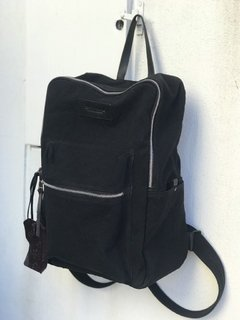 Mochila Iron Black Canvas