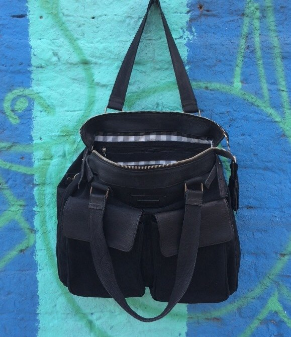 Weekender Bag Canvas and Leather - tienda online