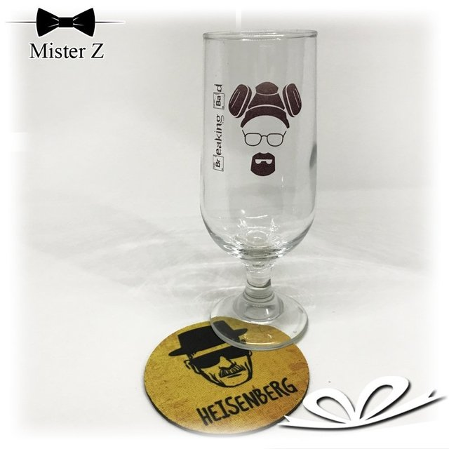 Taça de Cerveja do Heisenberg - Breaking Bad na internet