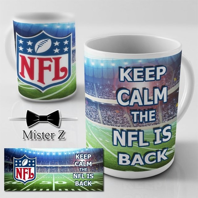 Caneca NFL - Keep Calm the NFL is Back - comprar online