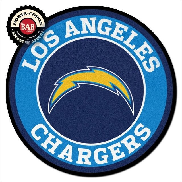 Porta-Copo NFL Los Angeles Chargers N49 - comprar online