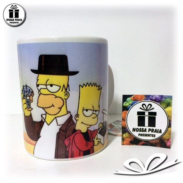 Caneca dos Simpsons - Breaking Bad - comprar online