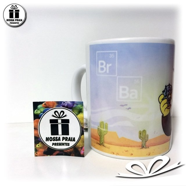 Caneca dos Simpsons - Breaking Bad na internet