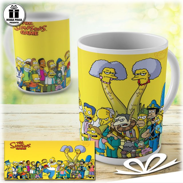 Caneca dos Simpsons The Game - comprar online