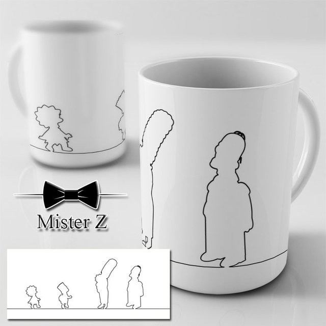 Caneca dos Simpsons - The Simpsons Lines - comprar online